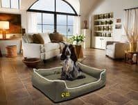 Dog Bed Settee - Orthopaedic Waterproof Memory Foam -Peps Depot